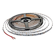 2×5M 36W 600x3528 SMD Red Light LED Strip Lamp (12V,IP44)
