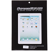2 X LCD Screen Protector with Cleaning Clothes for iPad 2/3/4