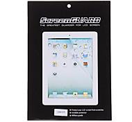 2 x Protector de pantalla con ropa de limpieza para iPad 2/3/4