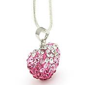 керамический сплав циркония сердце картины Подвеска (розовый)