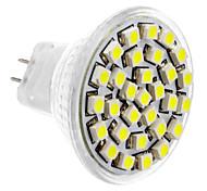 MR11 1.5W 30x3528SMD 150-180LM 6000-6500K lumière blanche naturelle Ampoule LED Spot (12V DC)
