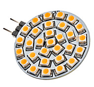 G4 2W 30x3528SMD 120-150LM 3000-3500K Warm White Light LED Spot Bulb (12V)
