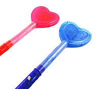 3-Mode Flashing Loving Heart Glow Stick Concert Props(Assorted Color)