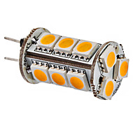 G4 3W 15x5050SMD 150-180LM Warm White/White Light LED Corn Bulb (12V)