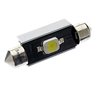 Festoon Car White 2W SMD LED 6000-6500 Reading Light Door lamp CANBUS