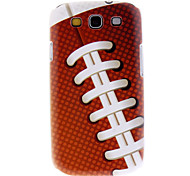 Matte Style Ball Pattern Durable Hard Case for Samsung Galaxy S3 I9300