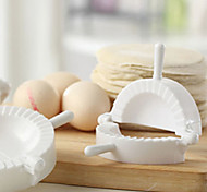 Versatile Plastic Chinese Dumplings Mould Model Meat Pie Marker Maker for Home Family
