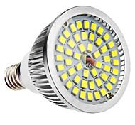 E14 6W 48x2835SMD 580-650LM 5800-6500K natürliches weißes Licht LED-Spot-Lampe (110-240V)