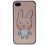 Cartoon Cute Rabbite Pattern Hard Case for iPhone 4/4S
