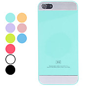 Simple Design Solid Color Hard Case for iPhone 5/5S (Assorted Colors)