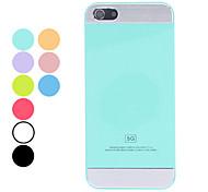 caso del diseño simple del color sólido duro para el iphone 5/5s (colores surtidos)