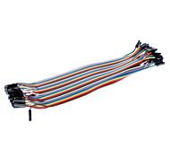 40pcs Dupont Line 1P-1P Pack (20 Length)