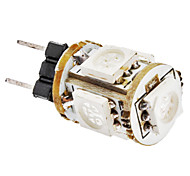 G4 1W 5x5050SMD 65-75LM Light Blue LED mais lampadina (12V)
