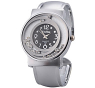 Women's Alloy Quartz Movement Glass Round Watch(More Colors)