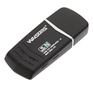 150Mbps Wireless N USB Adapter 1T1R Compatible Windows/Mac(with WPS function)