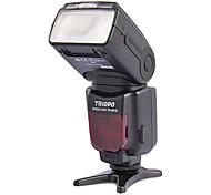 "TRIOPO TR-981N automático zoom 2.1 ""LCD Speedlit w / 1-LED para cámaras SLR Nikon - Negro (4 x AA)"