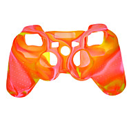 Protective Silicone Dual-Color Case for PS3 Controller