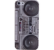 Lureme Radio Pattern Back Case for iPhone 5/5S