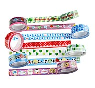 Fancy Adhesive Tape(4 PCS Random Color)