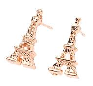 Eiffelturm Rose Gold Small Ohrring
