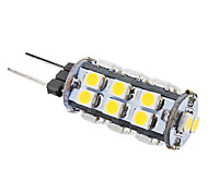 1W G4 LED Corn Lights T 26 SMD 3528 50 lm Warm White AC 12 V
