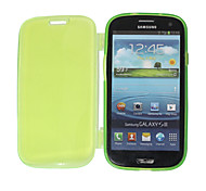 Trasparente Fluorescenza a colori Custodia protettiva TPU per Samsung Galaxy S3 I9300