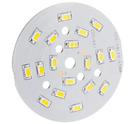 9W 850LM 3500K 18x5630SMD Warm White Light LED-Source-Modul (DC 29-32V)