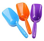 Plastic Food Shovel for Pets(Random Color)