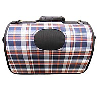 Classic Scotland Checks Pattern  Carrier Bag with Straps for Pets Dogs (Assorted Colors, Sizes)