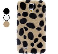 Leopard Spot-Muster-Fall für Samsung Galaxy i9500 S4 (Farbe sortiert)