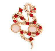 Snake Twist Brooch(Random Color)