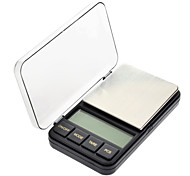 "2.4 ""LCD Portable Bijoux Digital Pocket Scale - 200g/0.01g (2 piles AAA)"