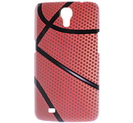 Matte Style Basketball Design Durable Hard Case for Samsung Galaxy Mega 6.3 I9200
