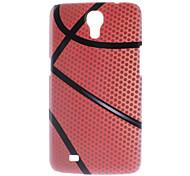 Matt Stil Basketball-Entwurf Durable Hard Case für Samsung Galaxy I9200 6.3 Mega