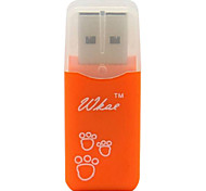 Mini USB Micro SD (TF) Card Reader W201