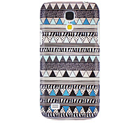 Green National Style Pattern Hard Case for Samsung Galaxy S4 mini I9190