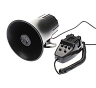 Loud Horn With 5 Sounds PA System for Cars Trucks Motorcycles (12V)