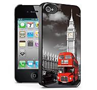 modello di autobus caso effetto 3d per iphone4/4s