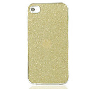 Shimmering Powder Wear-Resisting Prevent Scrape Back Case for iPhone 4/4S(Assorted Color)
