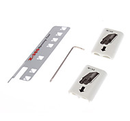 White Wireless Control Battery Pack Shell Cover+2pc Opening Tools For Xbox 360