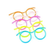 Glasses Design Straw(Random Color)