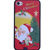 Padre de nuevo caso de impresión de Navidad para el iPhone 4/4S