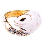 Snake Gift Fashion Jewelry Korean Version Of The Small White Snake Ring