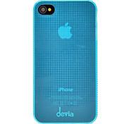 DEVIA Solid Color Pattern Крошечные сетям ультратонких ПК Жесткий чехол для iPhone 4/4S (дополнительных цветов)