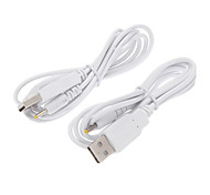 2 Pack prise USB Charge Cable Chargeur pour manette Xbox 360 Batterie