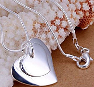 Silver Heart Pendant ecklace