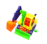 Stem Winding up Running Shop Truck Turning Round(Random Color)