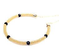accessoires perle coréenne clavicule collier à chaîne courte collier de collier dames (couleur aléatoire)
