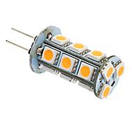 G4 / GU4(MR11) 3W 18 SMD 5050 180-220 LM Warm White LED Corn Lights AC 12 V