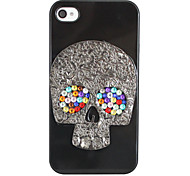 Schedel Hallowmas Back Case voor iPhone 4/4S
